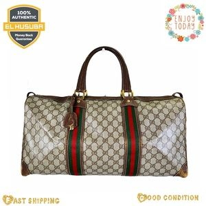 Gucci travel bag GG logo